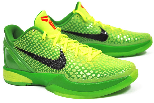 finest selection e500c 2f79b ... shopping nike zoom kobe vi grinch ed17d 132c2