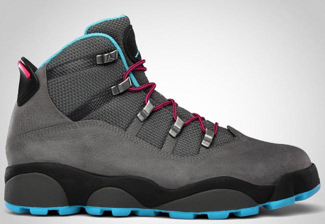 2e729d2d14a Jordan Winterized 6 Rings | Cool Grey / Chlorine Blue / Spark