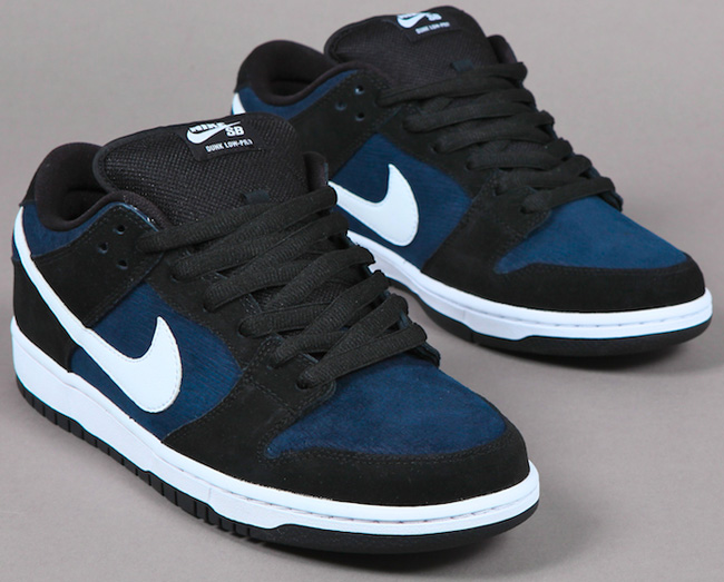 Nike Dunk Sb Bas Bleu Obsidienne