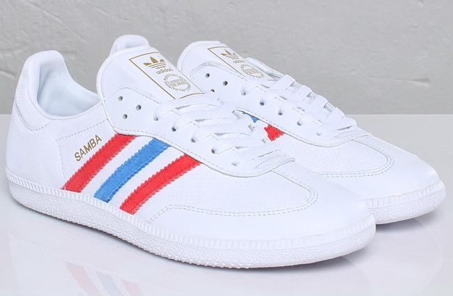... where to buy adidas originals samba white red blue c322e 1821c c18a65ca2