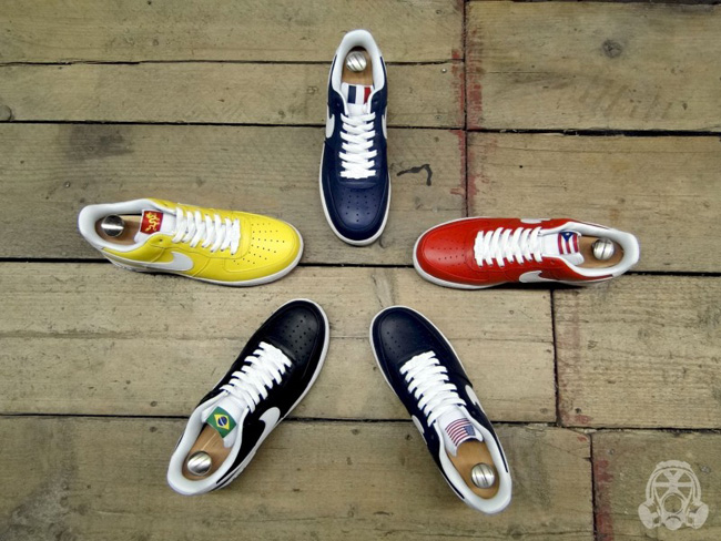 separation shoes 6d965 9d957 Nike Air Force 1 World Basketball Festival Pack
