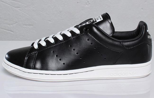 adidas originals stan smith black leather