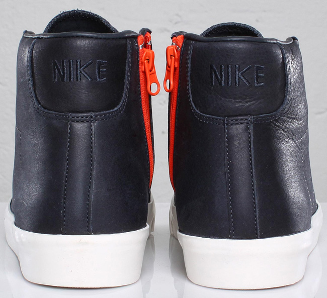 outlet store 83612 3bc50 ... Dark Obsidian Safety Orange Nike Blazer Mid AB TZ x Sophnet. Dark  Obsidian Safety Orange ...