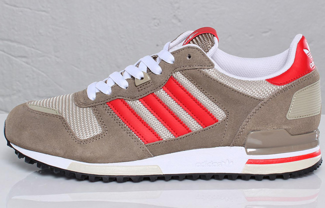 save off 204ee 5ac73 adidas originals zx 700 brown poppy red