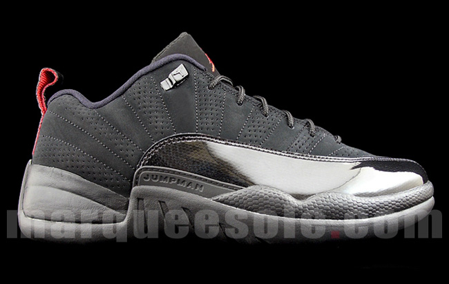 online store 7dd8d bd8d6 Air Jordan 12 Low | Black / Red - EU Kicks: Sneaker Magazine