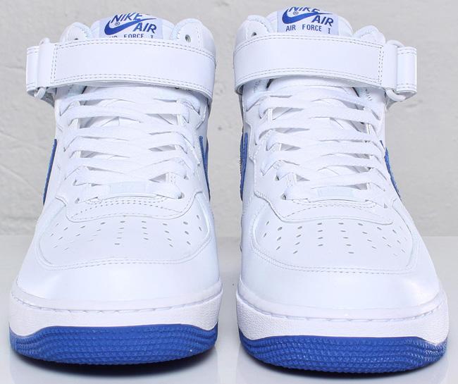 finest selection 427b8 3fdac Nike Air Force 1 Mid | White / Varsity Royal Blue - OG EUKicks Sneaker  Magazine