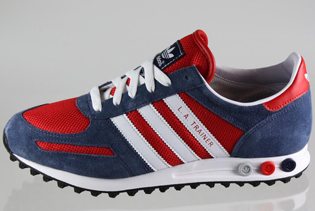 adidas trainers red and blue