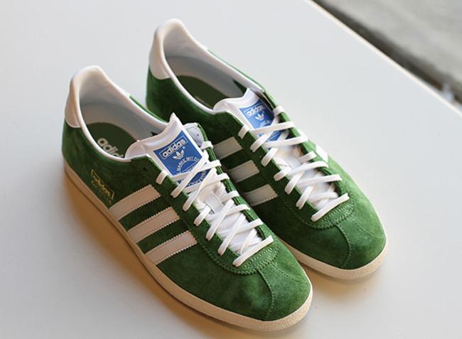 adidas originals gazelle og verde