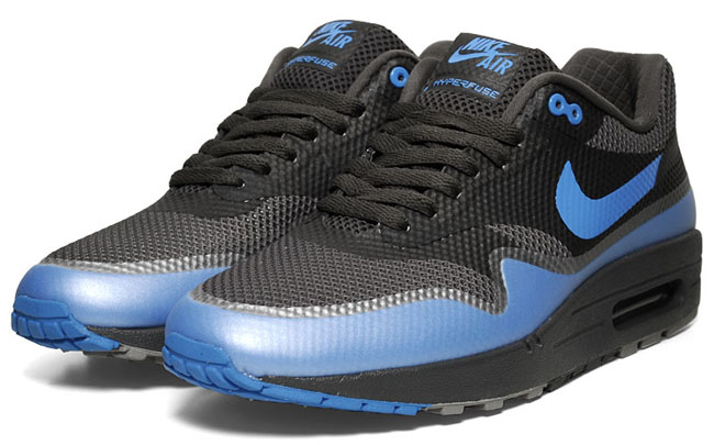 the latest 961e1 b9ee9 ... Nike Air Max 1 Hyperfuse Black Blue ...