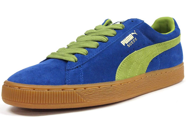best sneakers 59e08 cf91f Puma Suede ECO | Blue / Green - OG EUKicks Sneaker Magazine