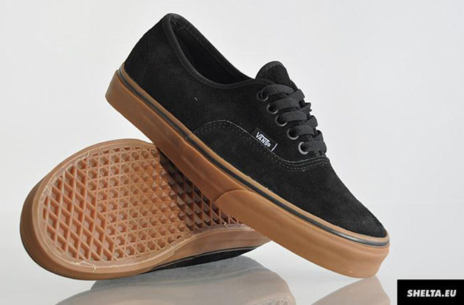 vans black brown