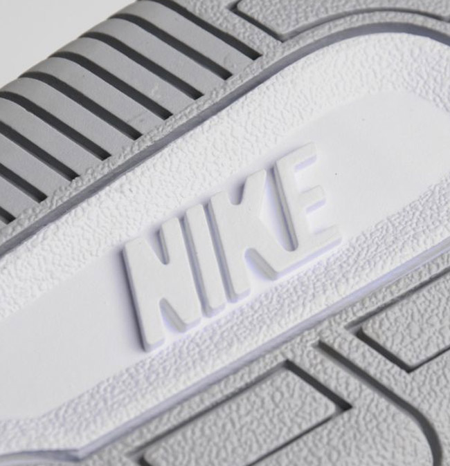 the latest 9231b 1b466 Nike Court Force Hi Ripstop   Wolf Grey