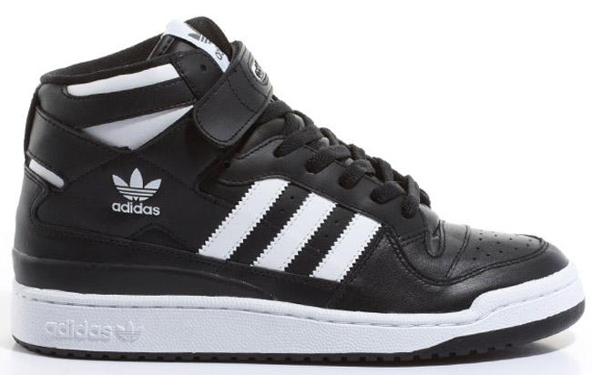 adidas originals black and white high tops