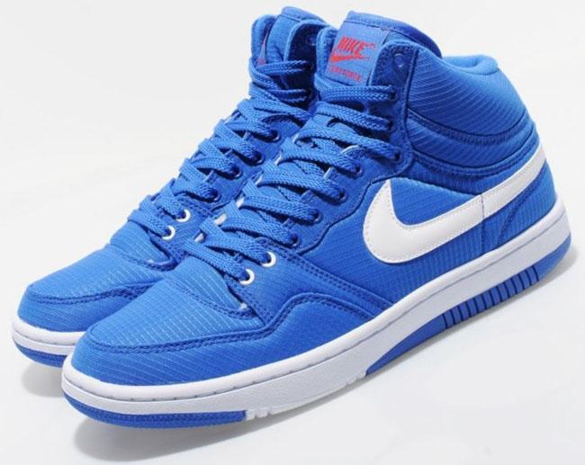 the best attitude ae3f4 34940 Nike Court Force Hi Ripstop   Treasure Blue   Red - OG EUKicks Sneaker  Magazine