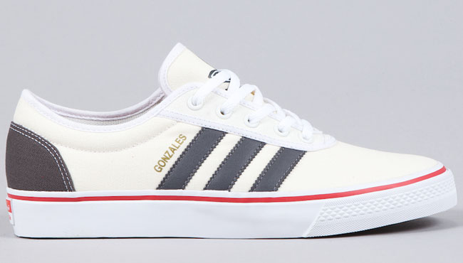 check out 32cc9 902c5 adidas Skateboarding adi Ease Gonz   Grey   Red