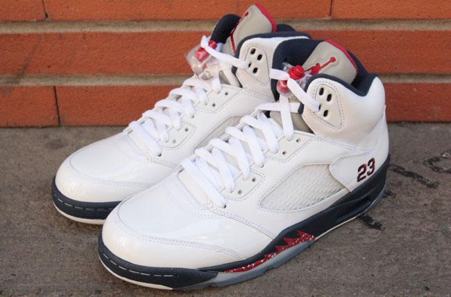 dac61ffff5a317 ... Air Jordan 5 Retro Cozy Fresh Air Jordan 5 Retro Independence Day ...