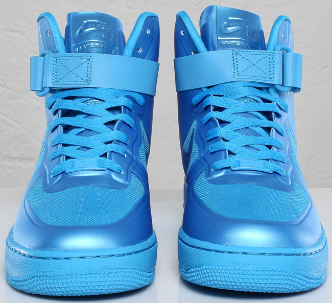 new arrival 597ea 4b1e1 Nike Air Force 1 Hi Hyperfuse Fall 2011 Collection Blue Glow .