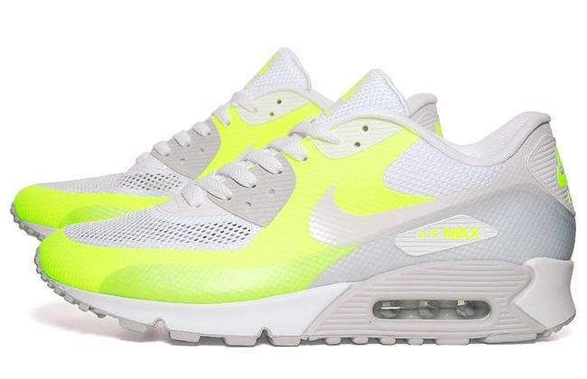 ... PRM Mens Shoes - GreyBlueOrange Nike Air Max 90 Hyperfuse Neutral Grey  Volt - EU Kicks Sneaker Magazine ... 51acf3dd7