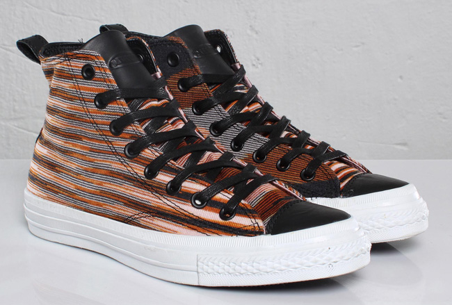 6fa6fb3a55a71c missoni x converse chuck taylor spec fs hi brown black detailed photos