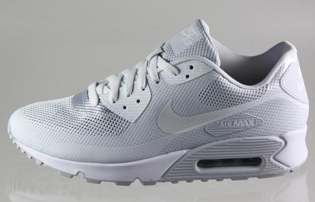 Nike Air Hyperfuse Max 90 Blanc Gris
