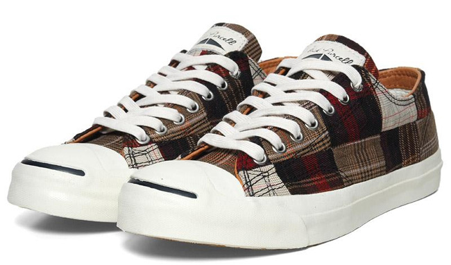 competitive price bfb00 83554 ... Converse Jack Purcell Ox  Converse Jack Purcell Red Plaid ...