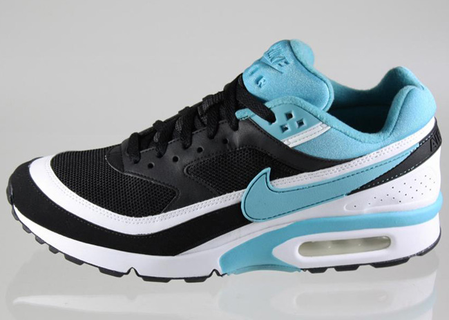 new product d40f3 26c61 ... cheap nike air max classic bw black light blue 93830 a162b
