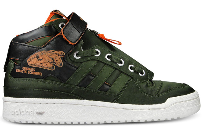 sports shoes 064a7 47ac4 Star Wars x adidas Forum Mid Military
