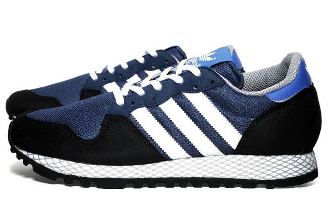 online store f8cb6 069f0 The Brand With  adidas Originals ZX 380 Solid Blue Black ...