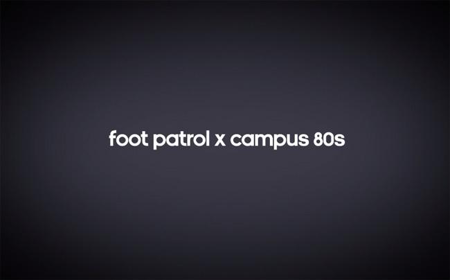 """505e64cdde8a adidas Originals """"B-Sides†Campus 80s x Foot Patrol"""