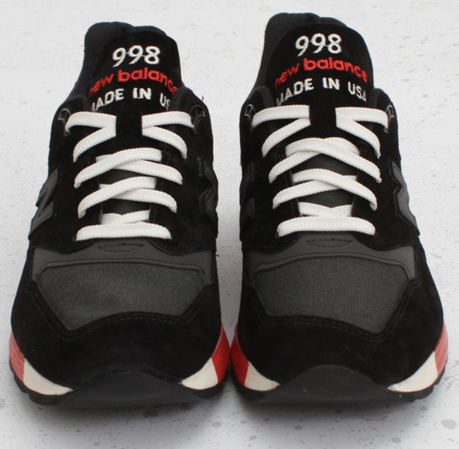 new balance 998 made in usa black red 31e637b57