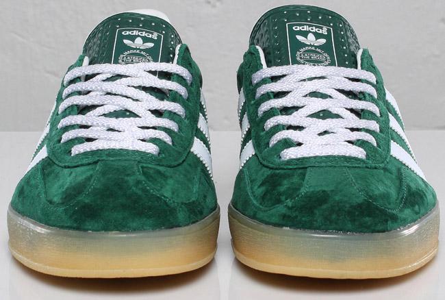 adidas gazelle indoor green white