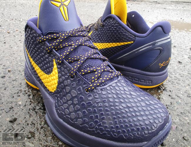 cheap for discount a01b0 c1297 ... inexpensive gold shoe nike zoom kobe vi imperial purple del sol c0b9f  3696f ...