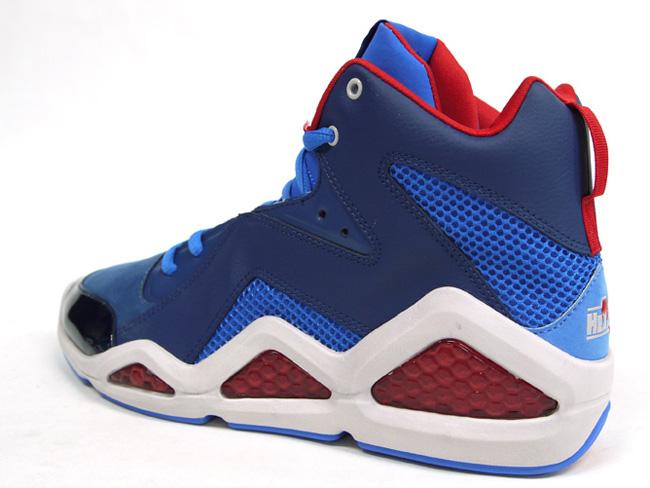 buy online b783c 1254c swizz beatz x reebok kamikaze iii mid blue red