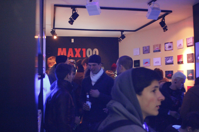 MAX100 Launch Party at Afew