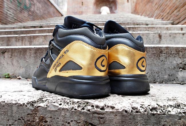 6c3af5cbeed ... Basquiat x Reebok Pump Omni Lite Black Gold ...