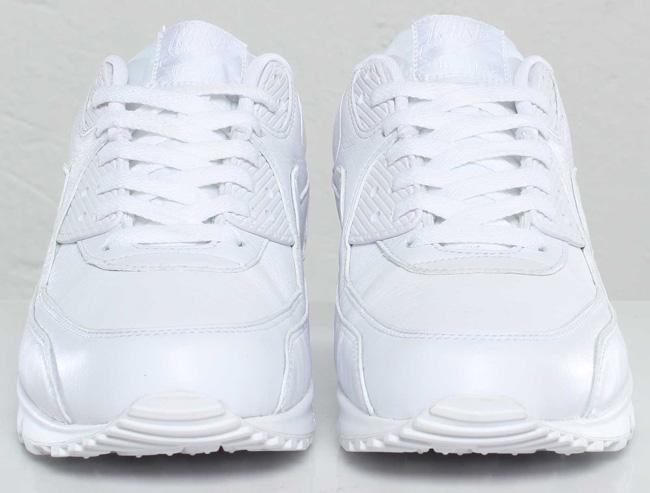 more photos 8db11 aef5c Nike Air Max 90 Premium   Triple White