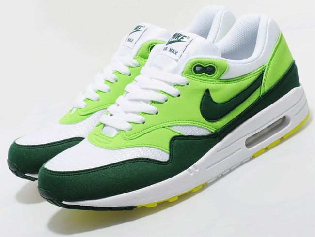 cheap for discount a95db 51ce9 Nike Air Max 1   White   Green - OG EUKicks Sneaker Magazine
