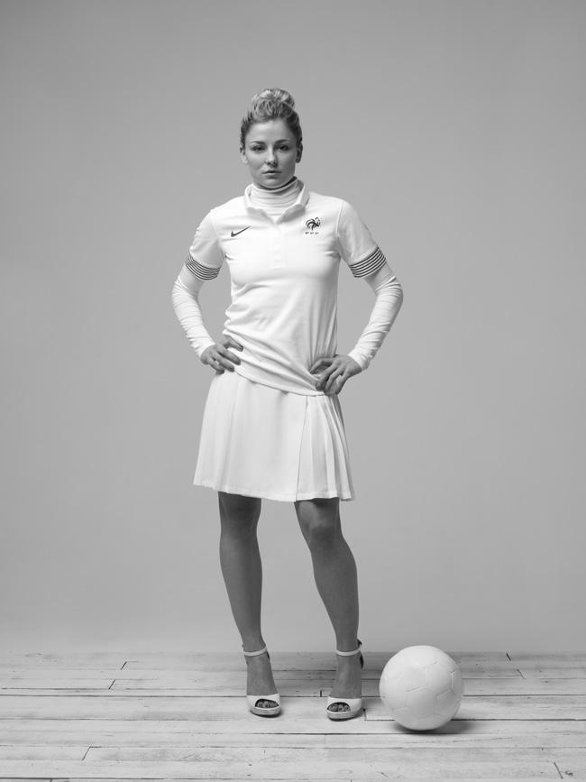 La Silhouette-Blanche by Nike, As Seen By Boris Diaw