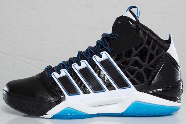 new concept d31fb 42249 ... adidas adiPower Howard 2 Black Bright Blue uk cheap sale 61fb9 282fc ...