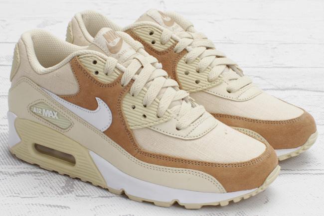 nike wmns air max 90 beige / brown