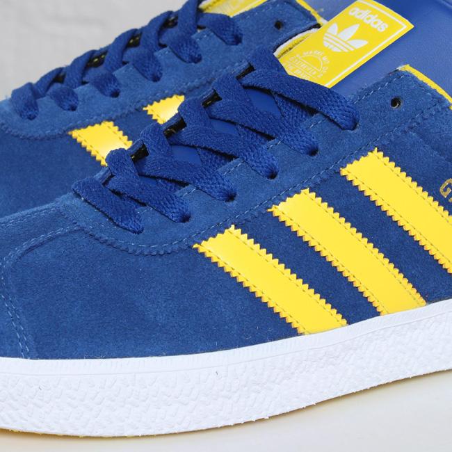 adidas gazzella blu e giallo.