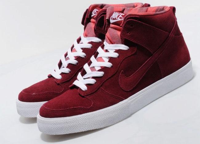 online store e084d d89cf Nike Dunk High AC Deep Red White ...