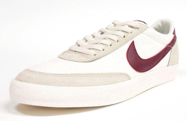 nike colpo mortale 2 beige / rosso scuro ue calci: scarpe da ginnastica magazine