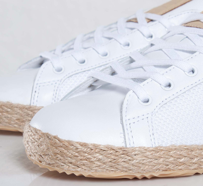"best sneakers 967c1 84991 United Arrows x adidas Originals Rod Laver ""Espadrille†  Detailed  Images - OG EUKicks Sneaker Magazine"