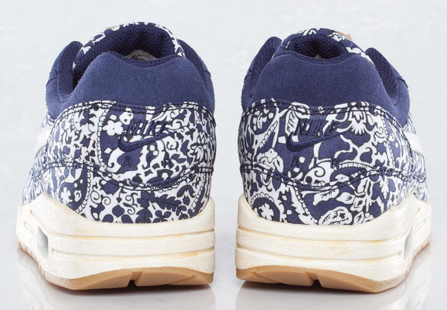 new style 752ce d75bb ... shopping nike air max 1 x liberty london imperial purple .. 14c25 4a9fc