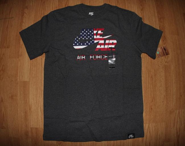 nike air force 1 usa mens t-shirt