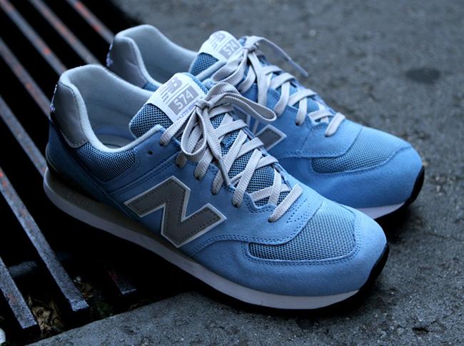 size 40 05eed aea00 ... inexpensive blue new balance 574 light 84502 77ceb