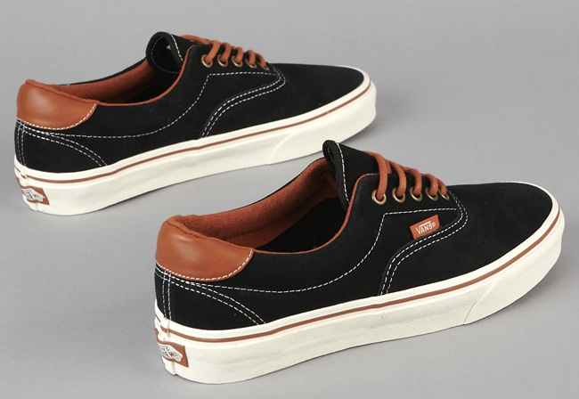 vans era 59 black and brown