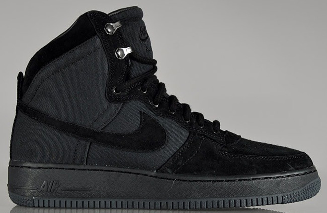 free shipping 5c579 e902e ... Nike Air Force 1 Hi DCN Military Boot Black ...