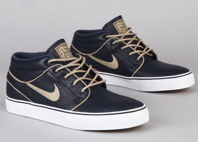 ... Nike SB Zoom Stefan Janoski Mid Premium   Marine / Khaki